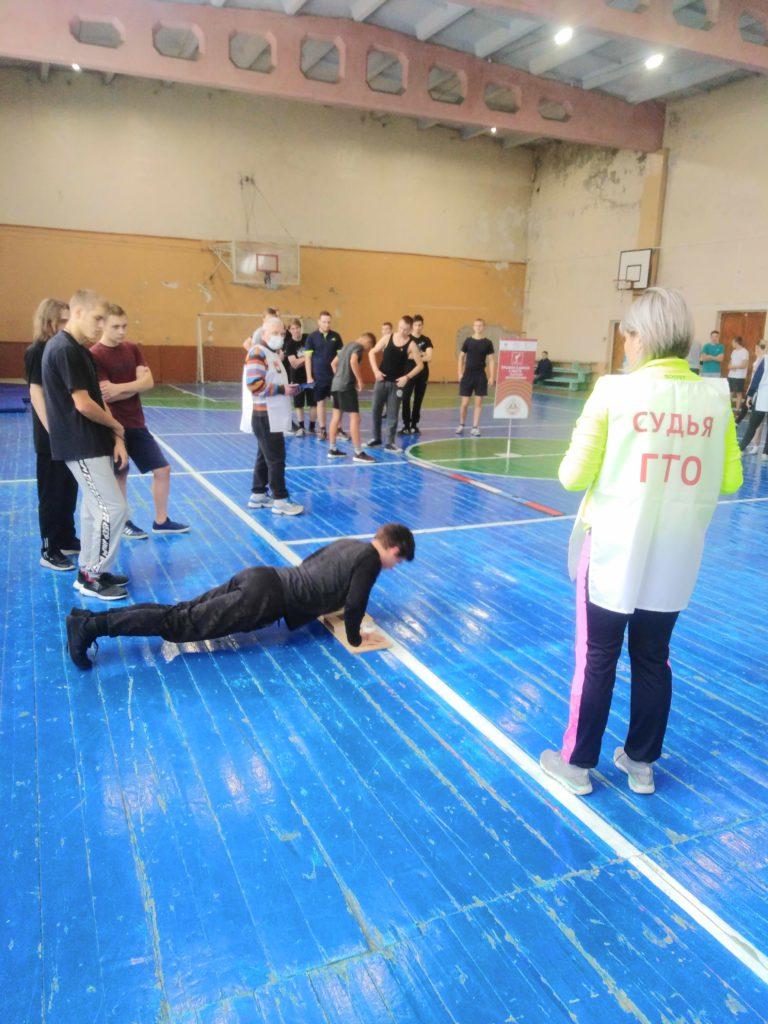 Студенты Кемеровского горнотехнического  техникума приняли участие в фестивале-марафоне «Студенчество выбирает ГТО!»