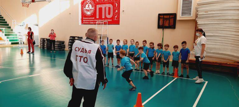 Малыши из детского сада №165 приступили к выполнению нормативов комплекса ГТО!