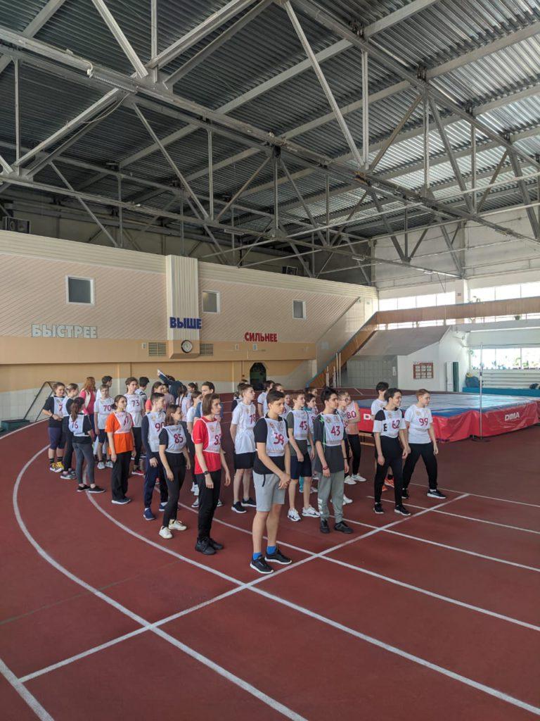 Школьники Городского классического лицея города Кемерово выполнили беговые виды испытаний комплекса ГТО