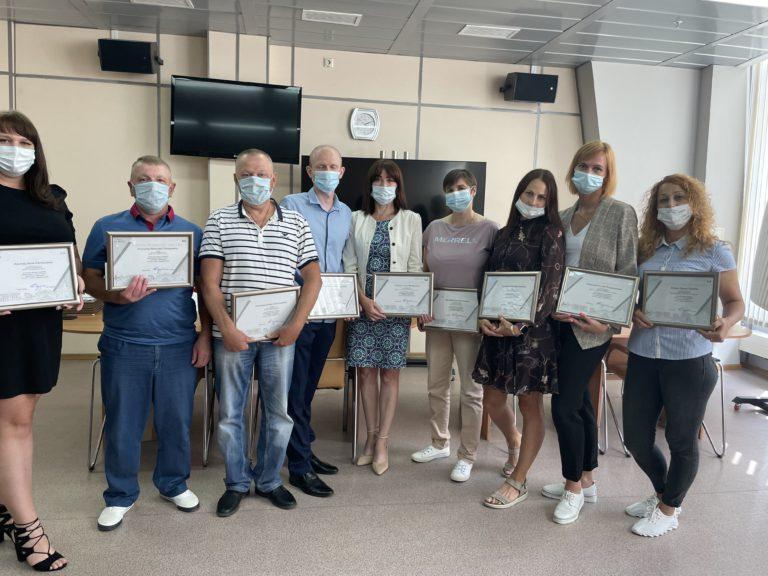 Благодарственные письма администрации города Кемерово и денежные премии вручили Центрам тестирования ГТО!