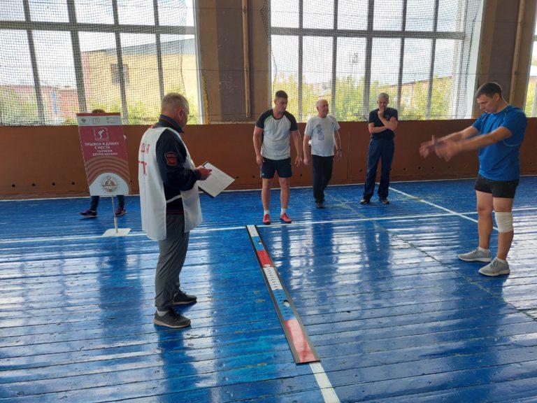 Преподаватели Кемеровского горнотехнического техникума выполнили нормативы комплекса ГТО