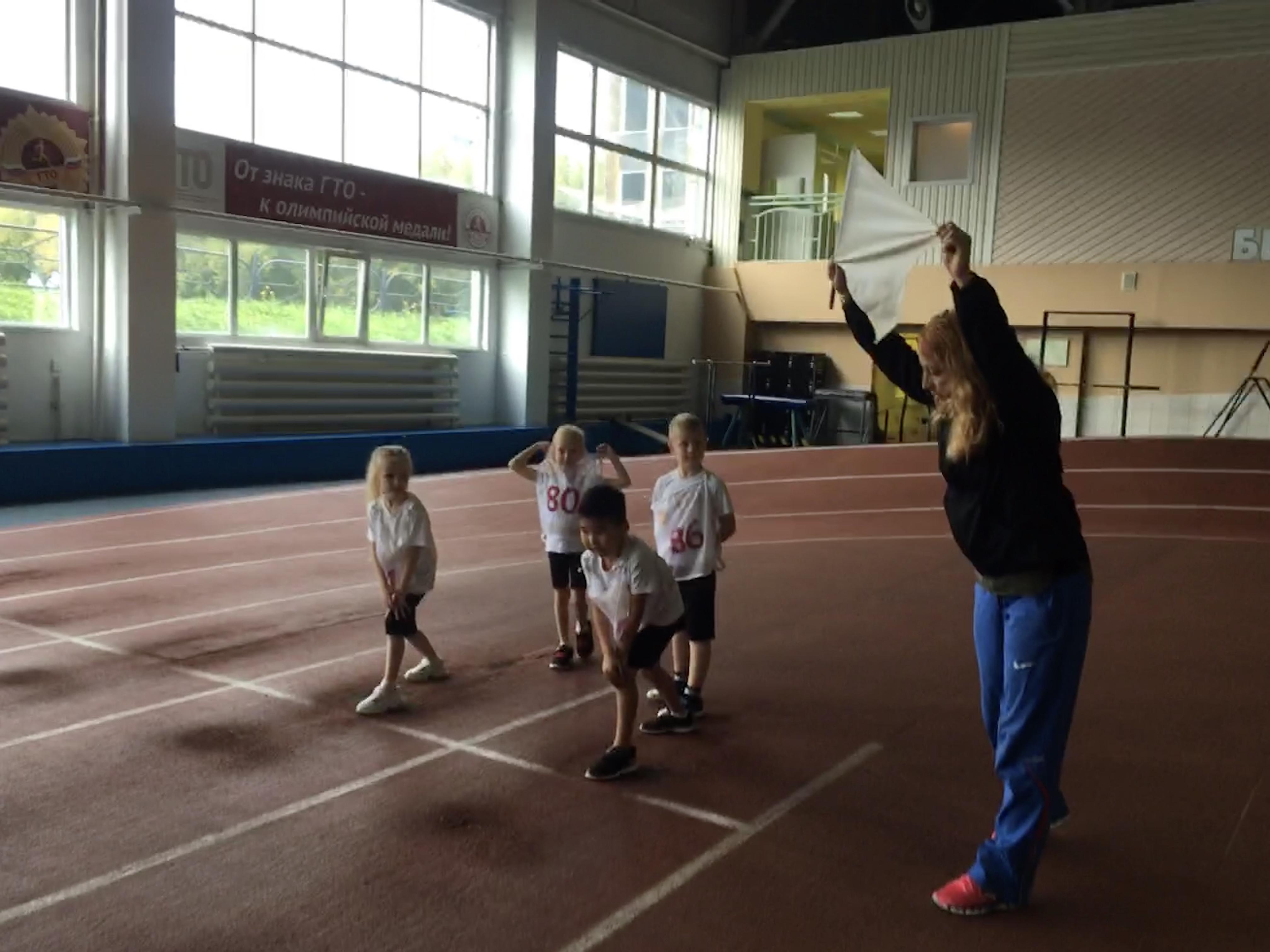 Воспитанники детского сада №27 г. Кемерово выполнили нормативы комплекса ГТО